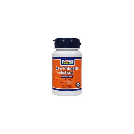 NOW Saw Palmetto 160 mg екстракт- 60 дражета