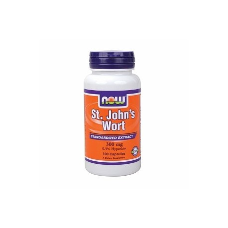 NOW St. John's Wort 300 mg - 100 капсули