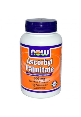 NOW Ascorbyl Palmitate 500 mg - 100 капсули