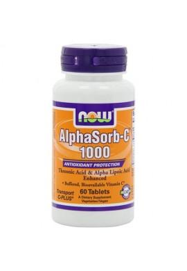 NOW AlphaSorb-C 1000 mg - 60 таблетки
