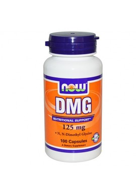 NOW DMG 125 mg - 100 капсули /Диметил Глицин/