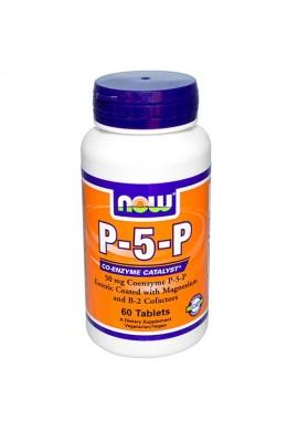 NOW P-5-P 50 mg - 60 таблетки