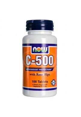NOW Витамин C-500 RH - 100 таблетки