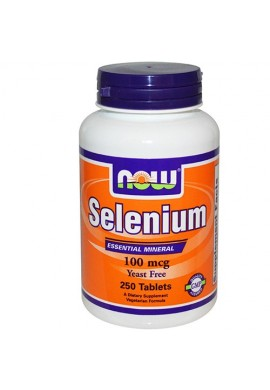 NOW Selenium 100 mcg - 250 таблетки