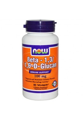 NOW Beta 1,3/1,6- D -Glucan - 100 mg - 90 капсули