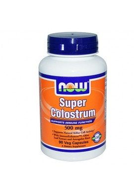 NOW Super Colostrum 500 mg - 90 капсули