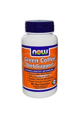 NOW Green Coffee Diet Support - 90 капсули