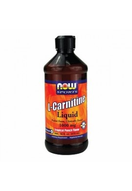 NOW L-Carnitine Liquid Citrus 465 mg - 31 г