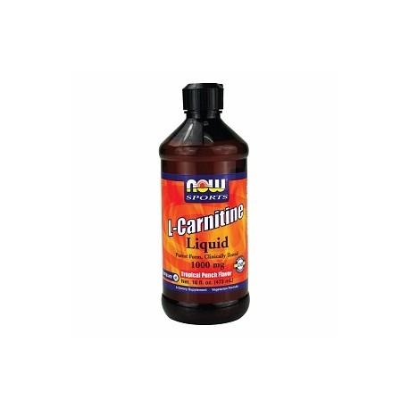 NOW L-Carnitine Liquid Citrus 465 mg - 31 г