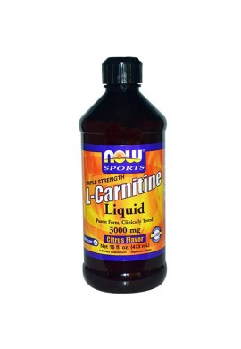 NOW L-Carnitine Liquid Citrus 465 ml - 93 g