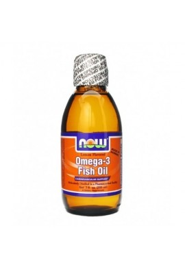 NOW Omega 3 Liquid - 200 ml /Лимон/