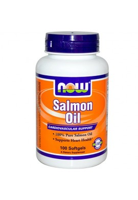 NOW Salmon Oil 1000 mg - 100 дражета