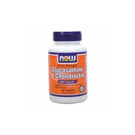 NOW Glucosamine & Chondroitin 750/600 mg - 60 табс