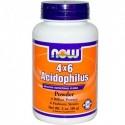 NOW Acidophilus 4X6 Прах - 85 g