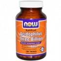 NOW Acidophilus Stabilized 3 Billion - 180 таблетки