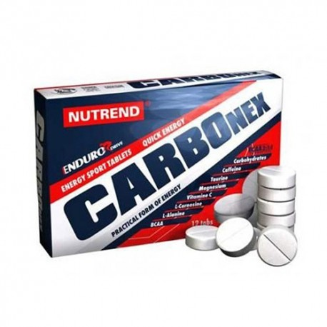Nutrend endurodrive Carbonex 12 tabs.