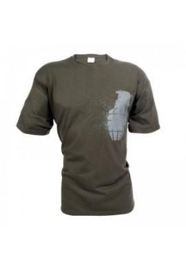 Grenade Women T-Shirt / Green
