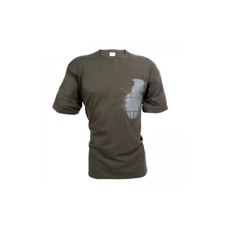 Grenade Women T-Shirt / Green