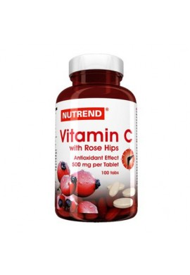 NUTREND VITAMIN C with rose hips 100 caps