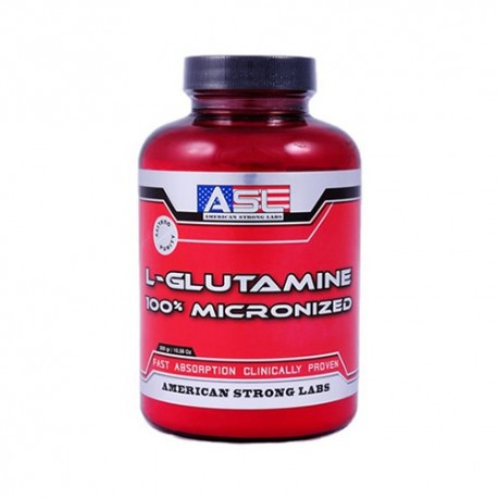 ASL L-GLUTAMINE 100% MICRONIZED 300gr.