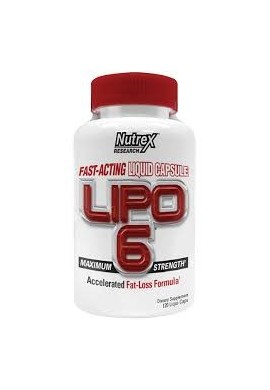 Nutrex Lipo 6 120 softgels