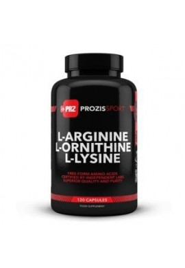 Prozis Sport L-Arginine L-Ornithine L-Lysine 120 caps