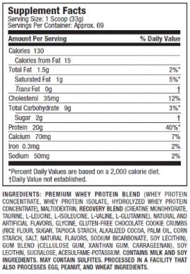 MuscleTech Premium Whey Protein Plus 5 lb
