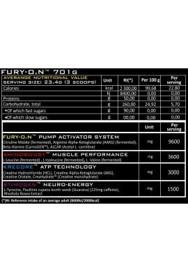 GENIUS FURY-O.N 700g