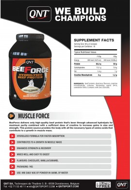 QNT Beef Force 1kg