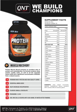 QNT Muscle Recall 1.5 KG