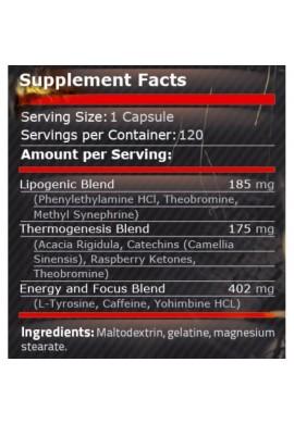 Pure Nutrition Black Fire 120 caps