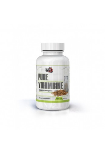 Pure Nutrition 100% Pure Yohimbine 100 caps