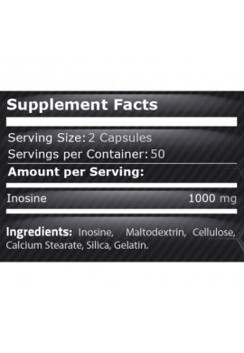 Pure Nutrition Inosine 500 mg 100 caps
