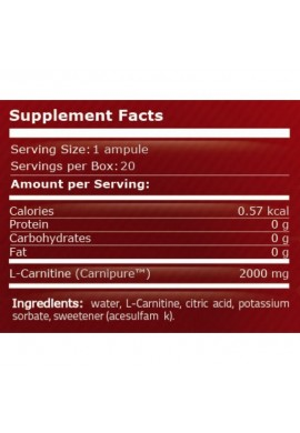 Pure Nutrition L-Carnitine 2000 25 ml x 20 amp