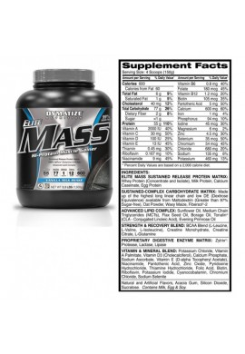 Dymatize Elite Mass Gainer 10 lbs