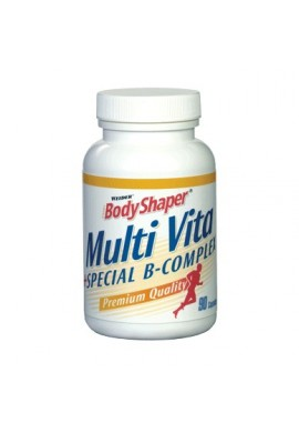 WEIDER BODY SHAPER Multi vitamins+b complex 90 caps