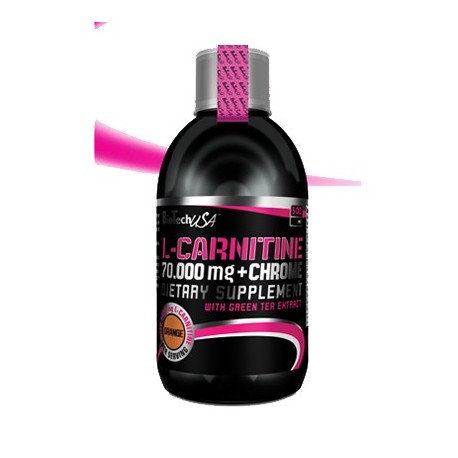 Biotech L-carnitine 70 000 + Chrome 500 ml