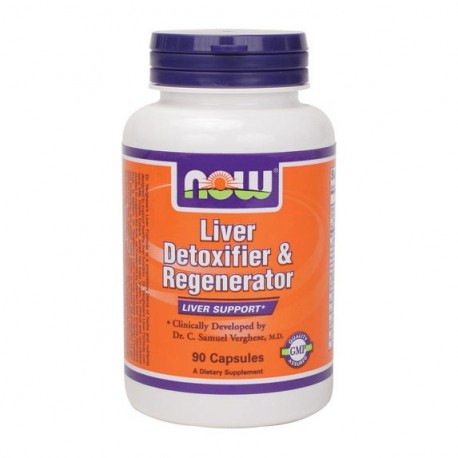NOW Liver Detoxifier and Regenerator 90 caps