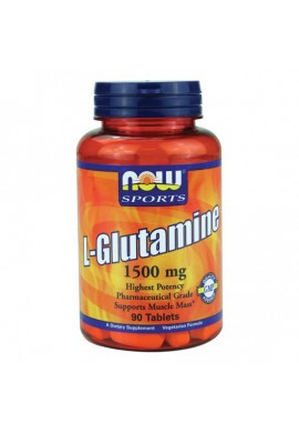 NOW L-Glutamine 1500mg. 90tabs.