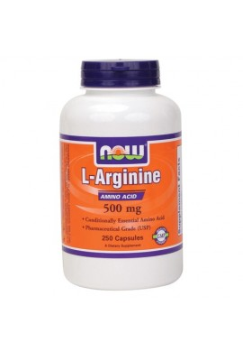NOW L-Arginine (500 mg) 250 caps