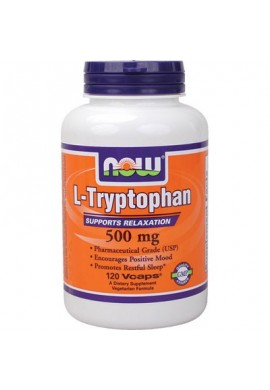 NOW L-Tryptophan 500mg. 60caps.