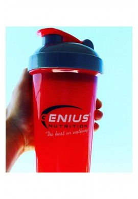 Genius Royal-Red Shaker 700ml