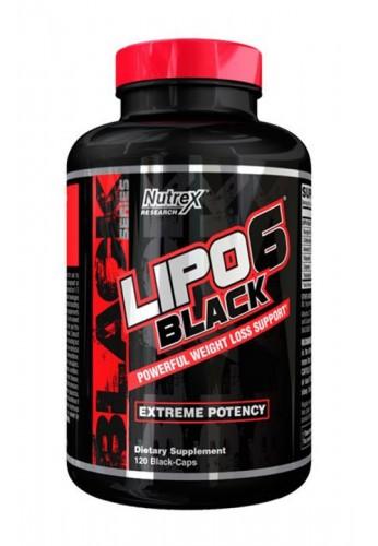 Nutrex Lipo 6 Black 120 caps.
