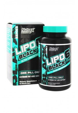 Nutrex Lipo 6 Black Hers Ultra Concentrate 60caps.