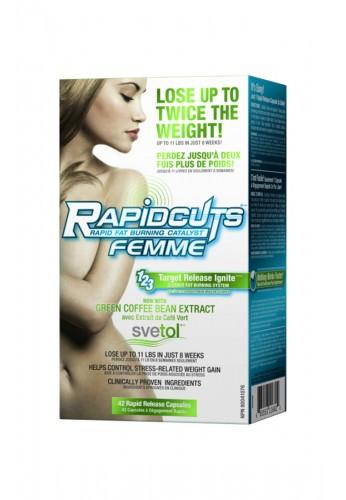 ALLmax Rapidcuts Femme 42caps.
