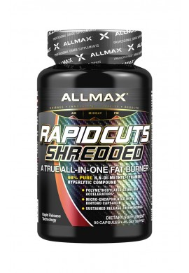 ALLmax Rapidcuts Hardcore Shredded 90caps.