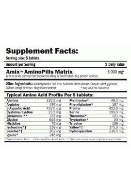 AMIX Amino Pills 330 tabs