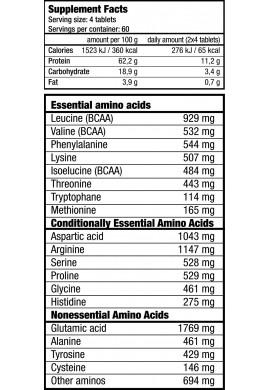 Biotech 3P Amino Matrix 240 tabs