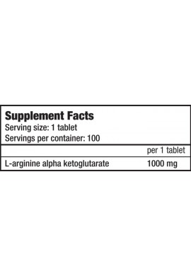 Biotech AAKG 1000 mg 100 tabs