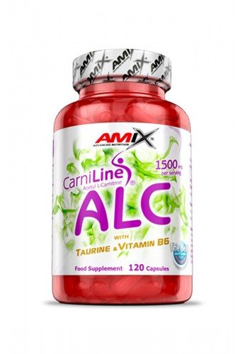 AMIX ALC with Taurin & Vitamine B6 120 caps